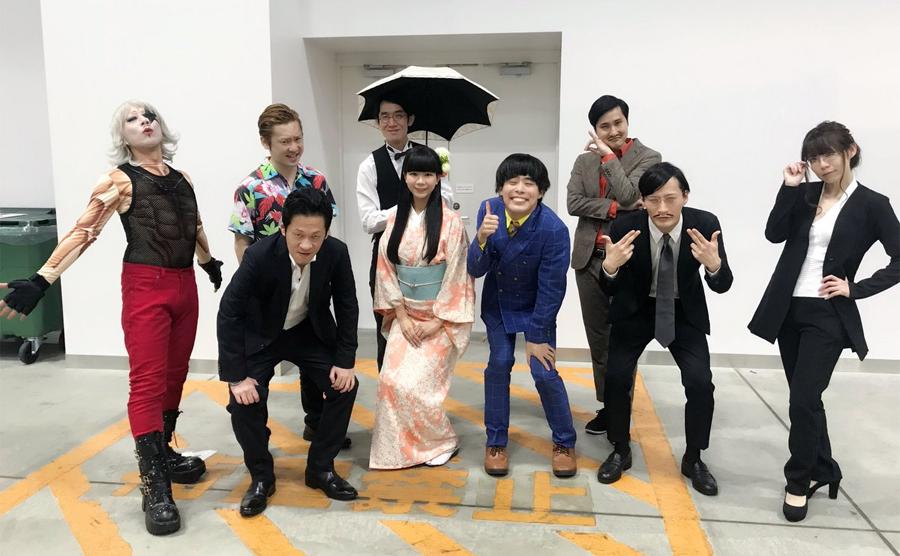 ゴー☆ジャスをはじめとするゲーム芸人が集まり、大喜利やネタバトルを開催!